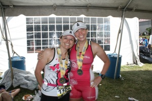 tri besties! (thanks Robert for the pic)