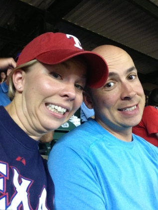 Ranger game fun time!