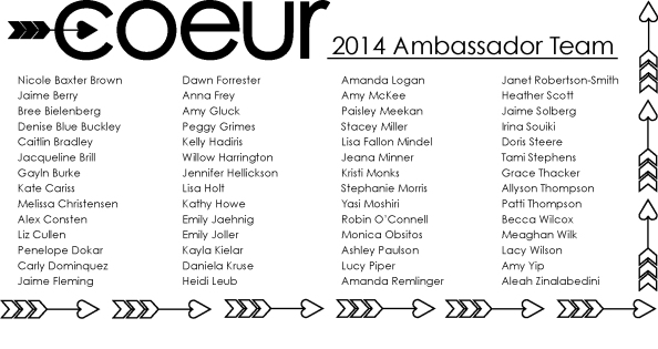 The 2014 Ambassador Team