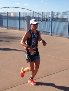Michelle, fighting for every mile