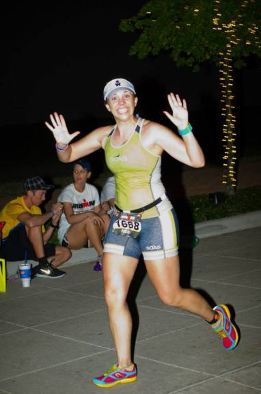 The day I knew I could do anything. IMTX finisher chute.