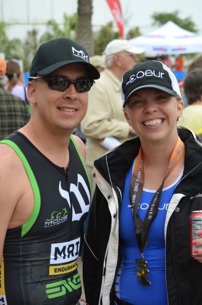 Hubs and I post race